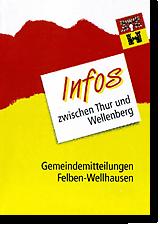 Titelbild «Infos zwischen Thur und Wellenberg»