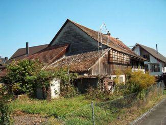 Felben-Wellhausen gestern - Spychergasse
